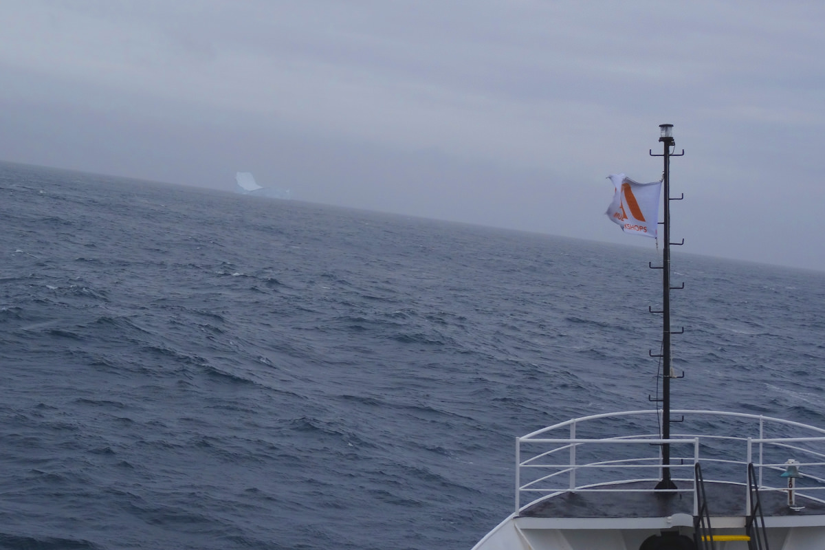 M/V Ushuaia in The Drake Passage