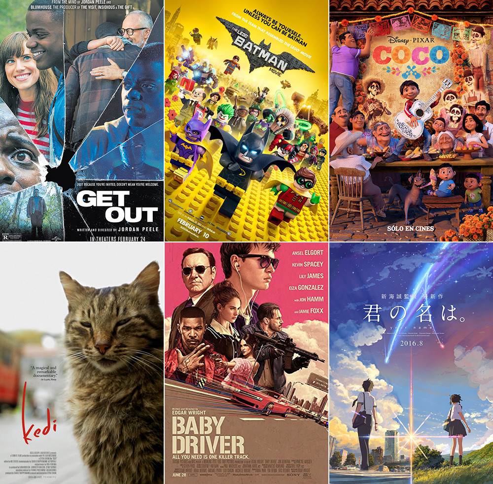 Favorite Movies 2017