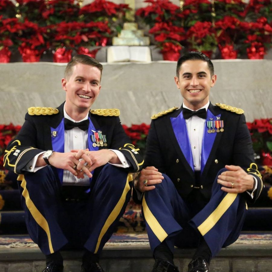 West Point Army Couple Dan and Vincent
