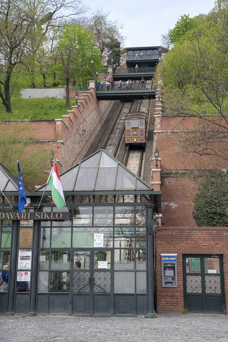 Budapest Buda Hill Funicular