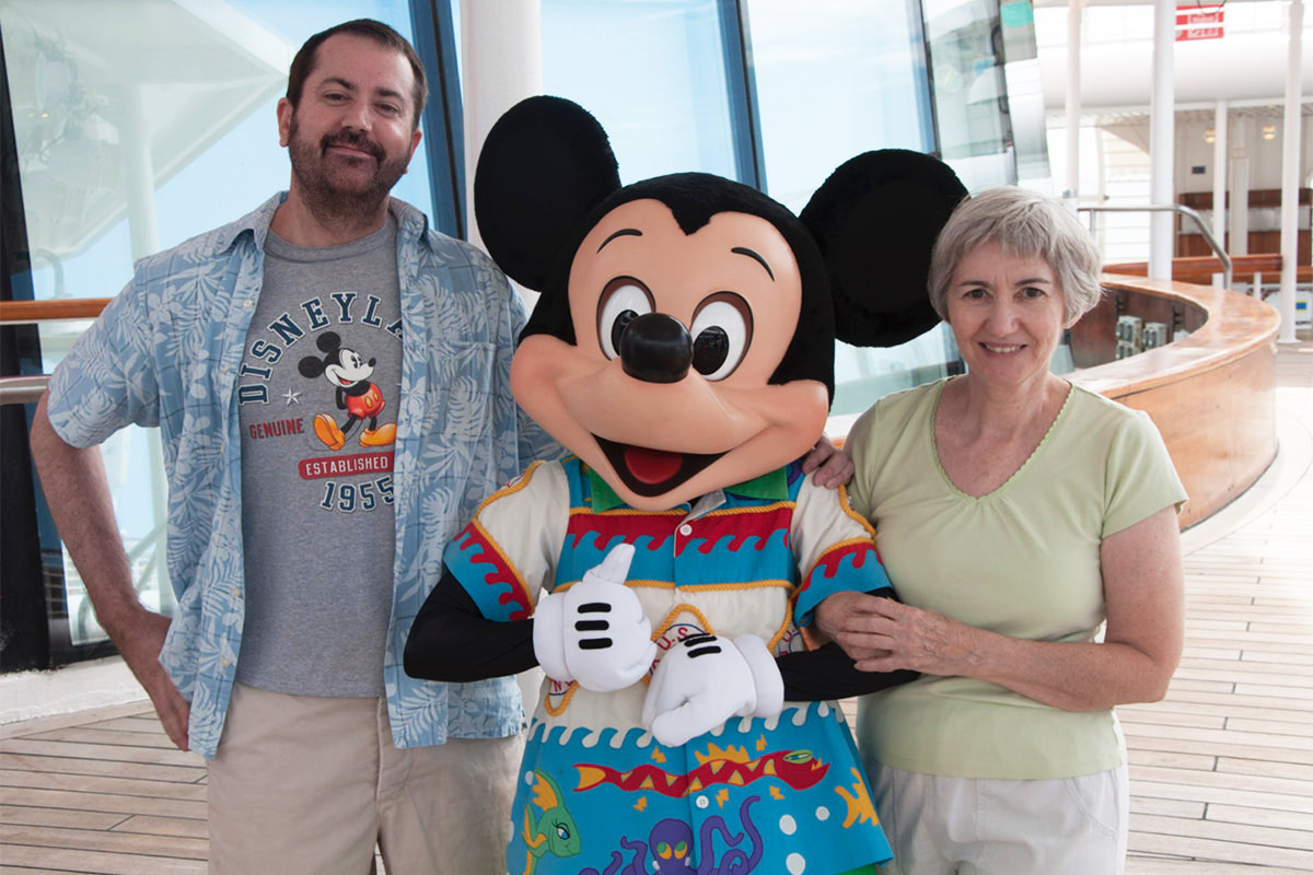 Mom, Mickey, and Me