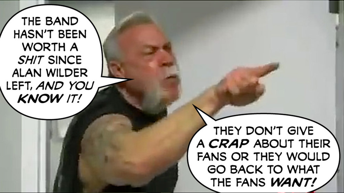 American Chopper discusses Depeche Mode