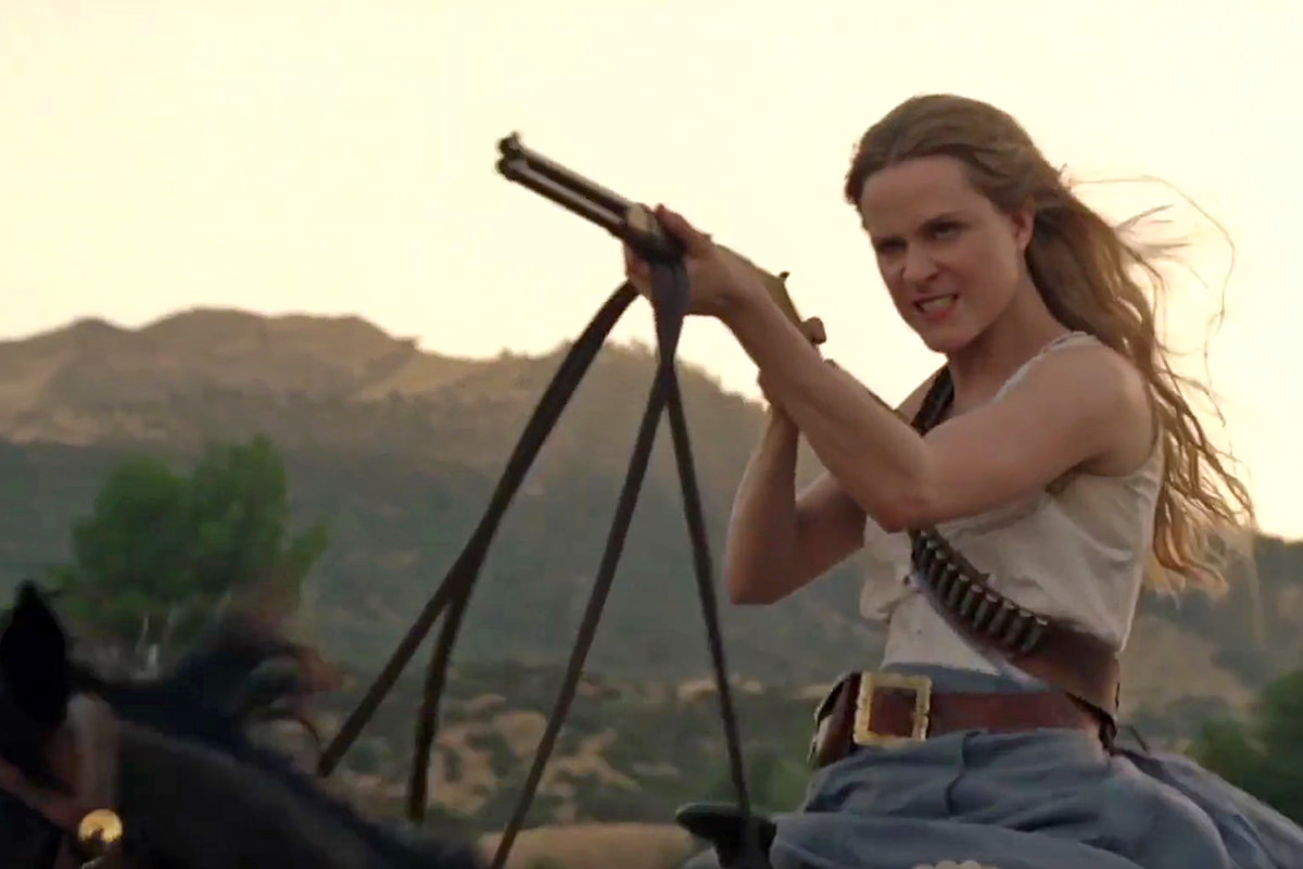 Psycho Dolores Westworld