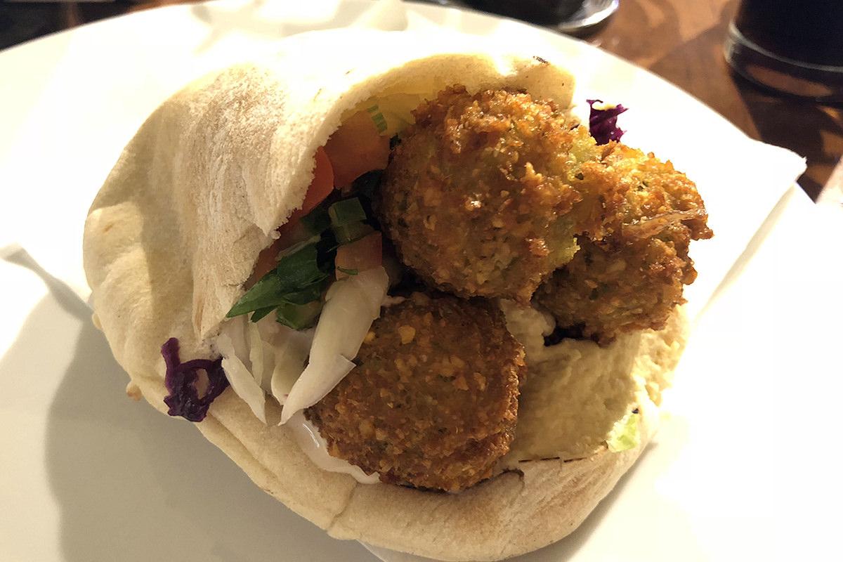 Falafel in Vienna