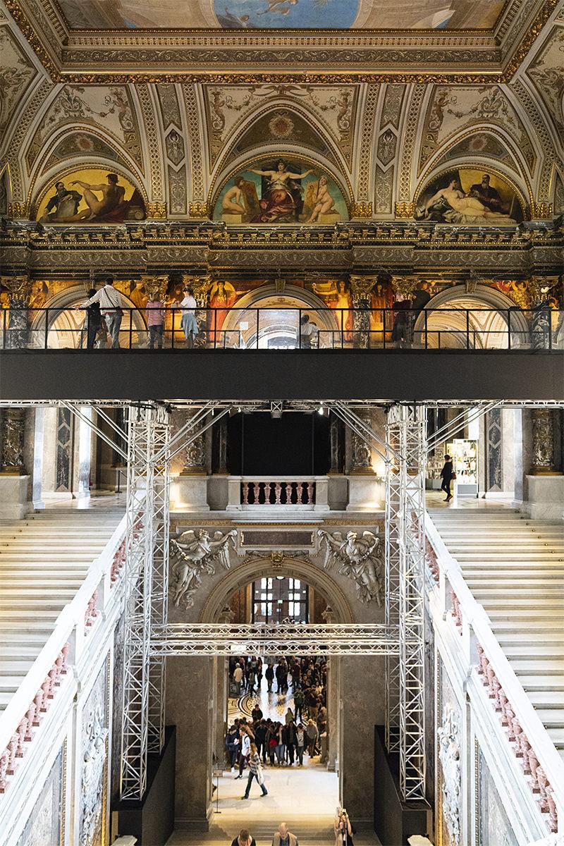 Kunsthistorisches Museum Vienna Stairway to Klimt