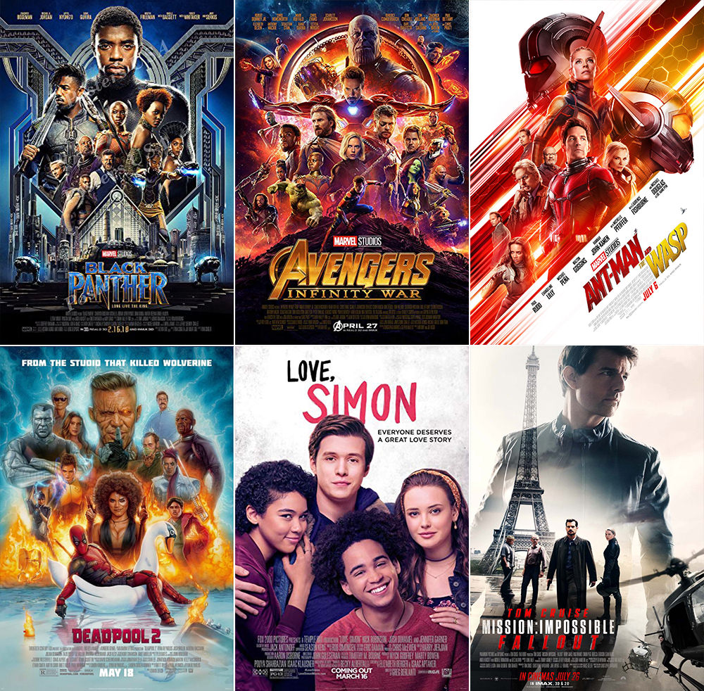 Favorite Movies 2018