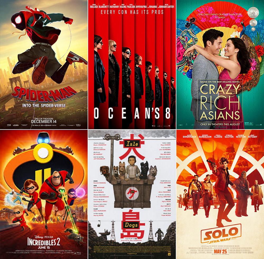 Favorite Movies 2018