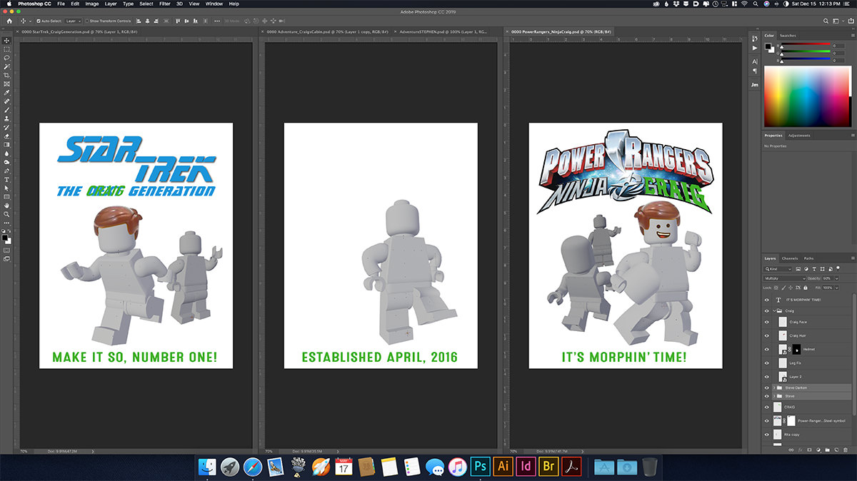 LEGO Craig Posters