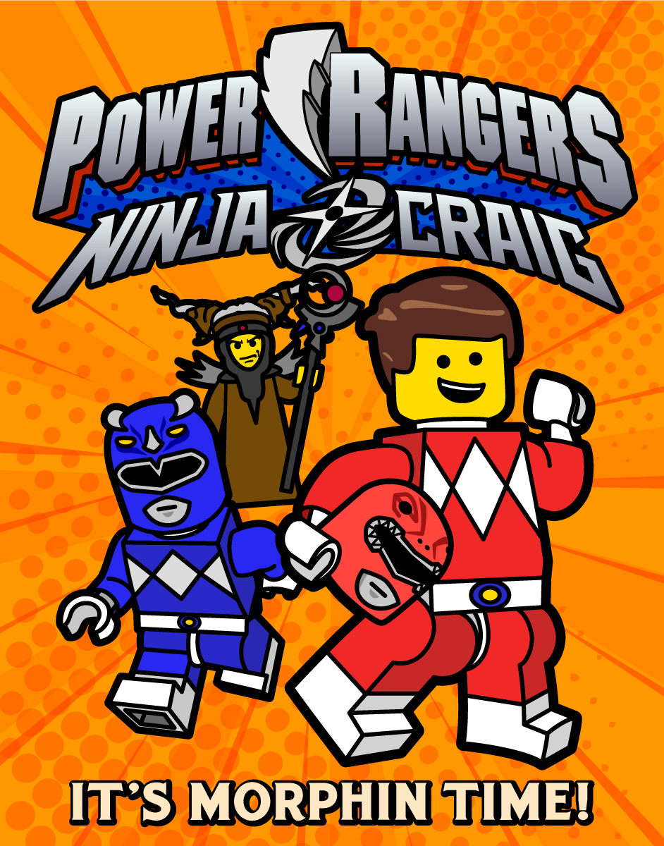 LEGO Craig Power Ranger