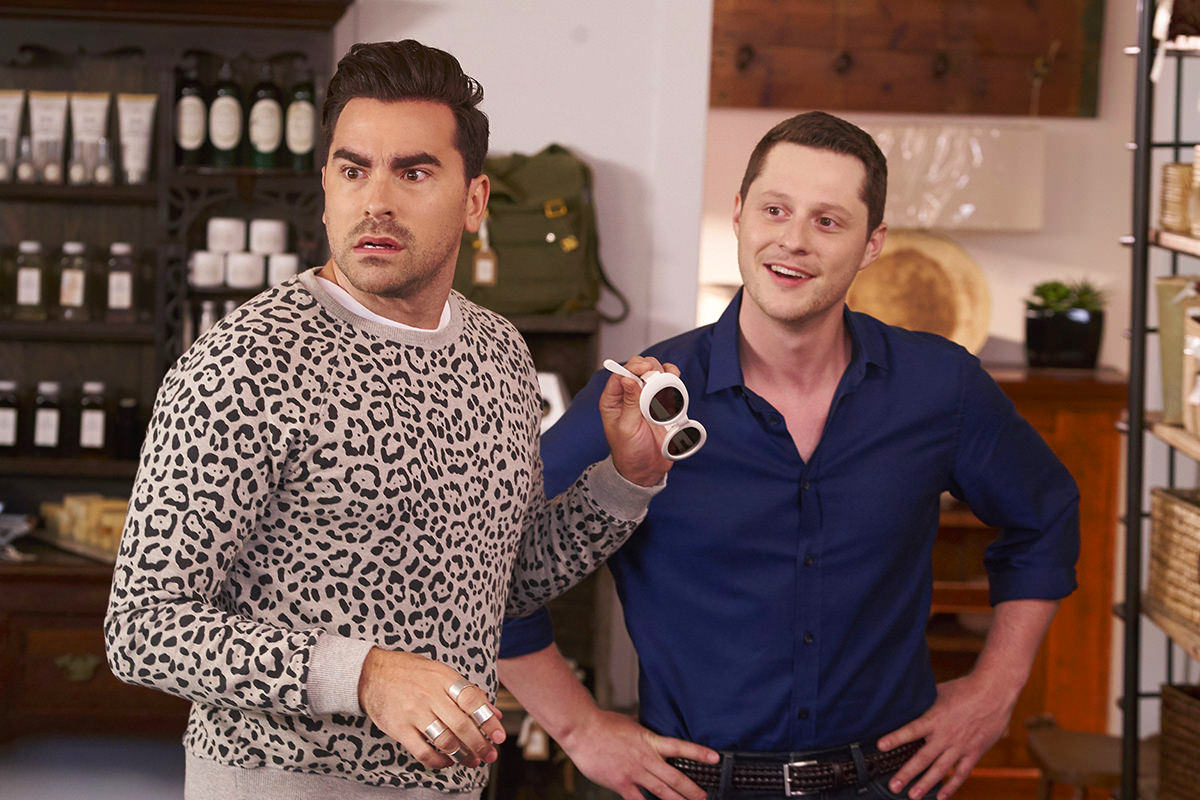 Schitt's Creek David and Patrick