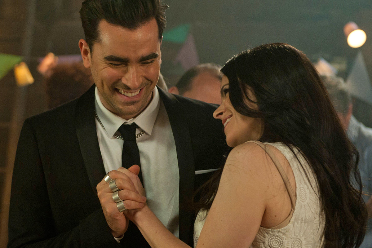 Schitt's Creek David and Stevie