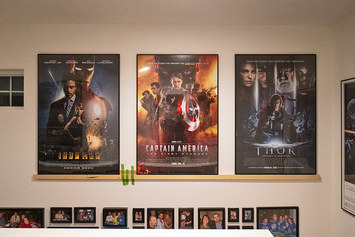 My Movie Posters on a Wall