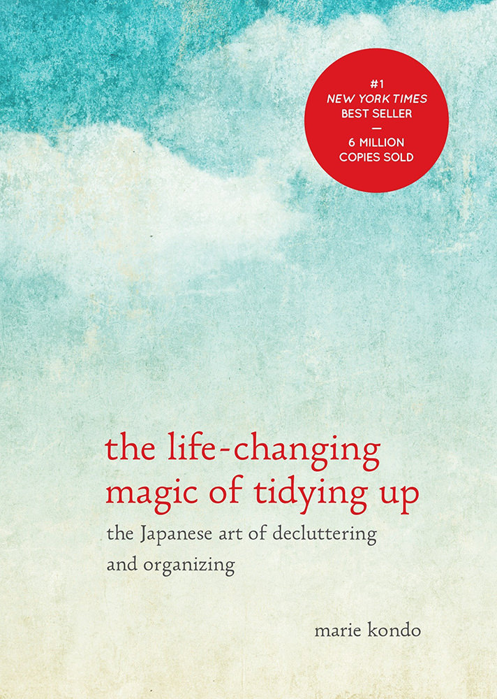 KonMari The Life-Changing Magic of Tidying Up Book