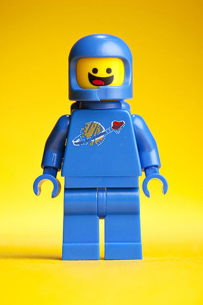 LEGO Movie Benny SPACESHIP!