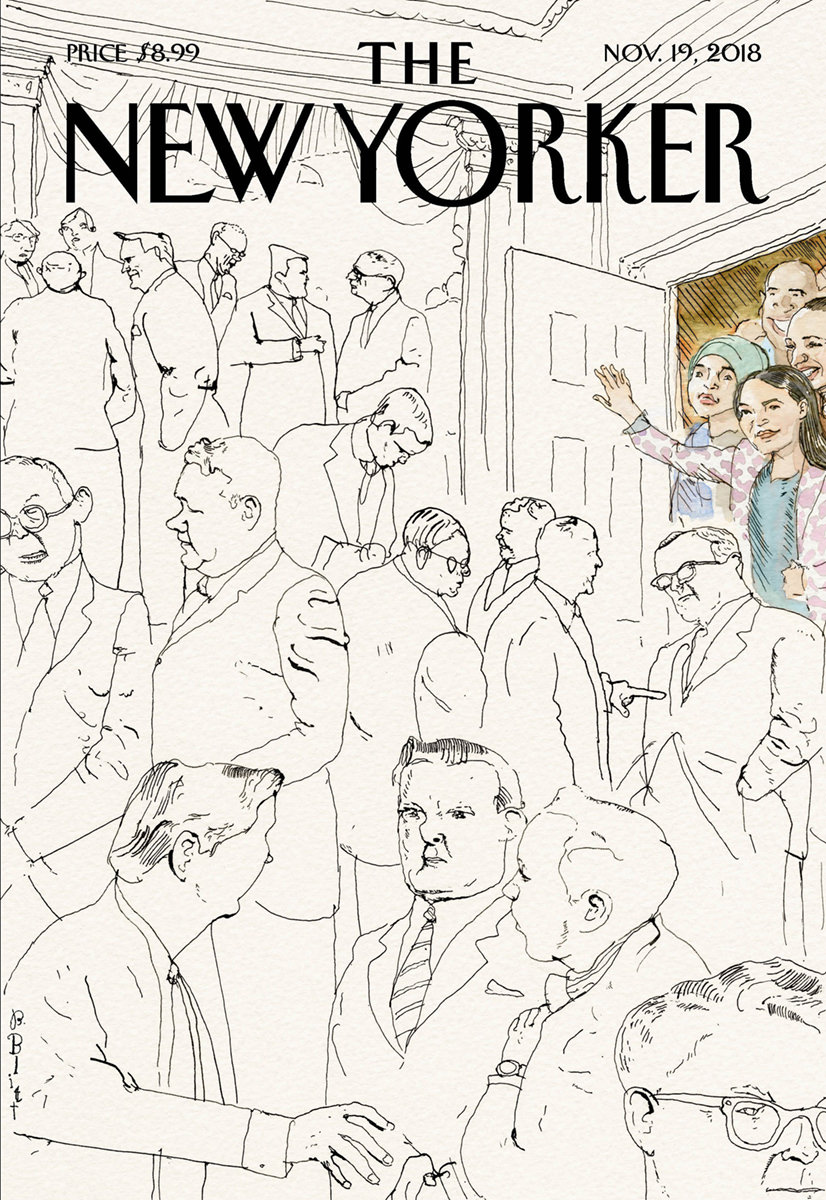 Barry Blitt's Welcome to Congress by The New Yorker