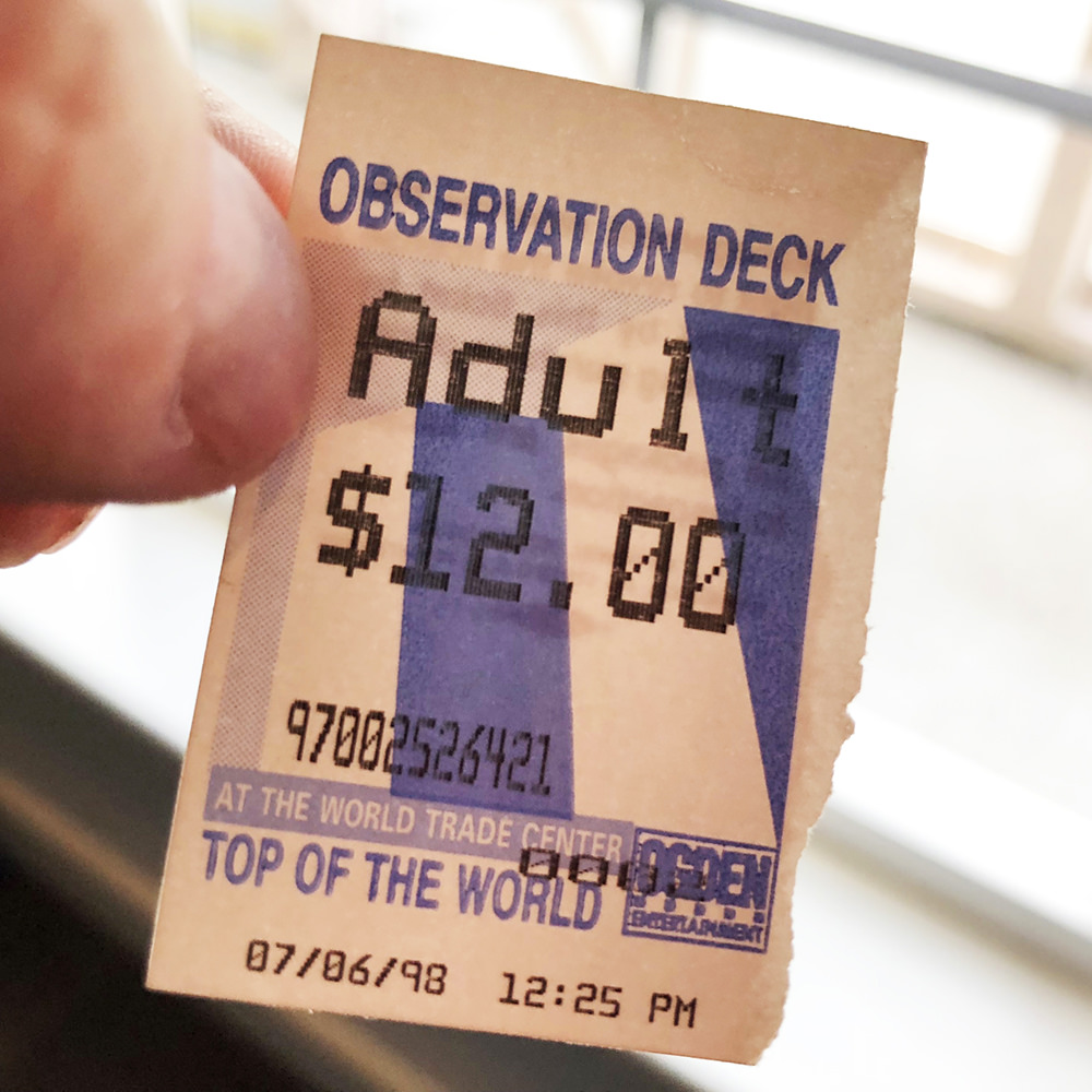 Observation Deck Ticket