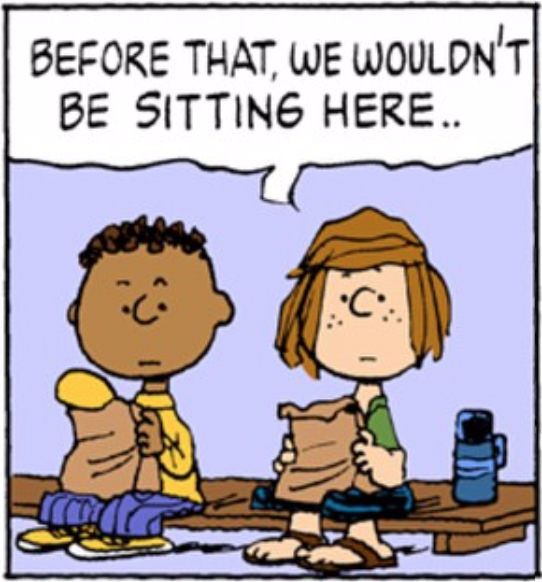 Peanuts on MLK Day