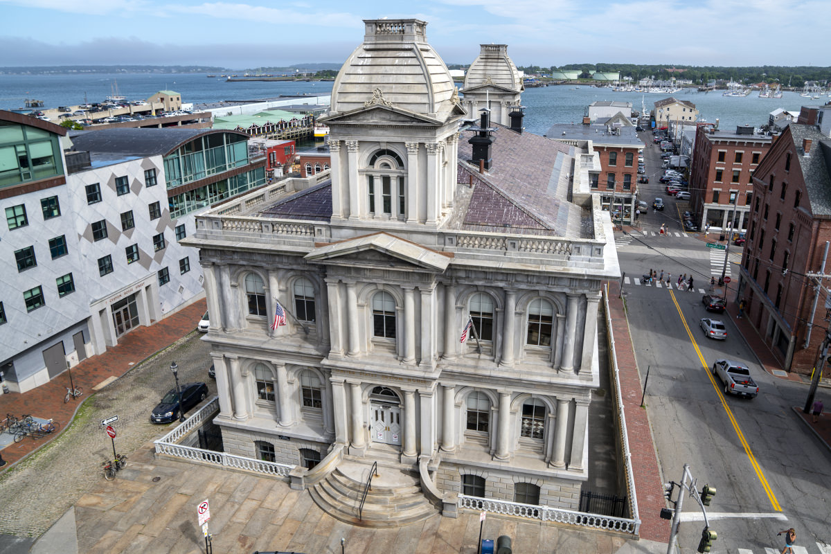 Old Customs House Portland, Maine