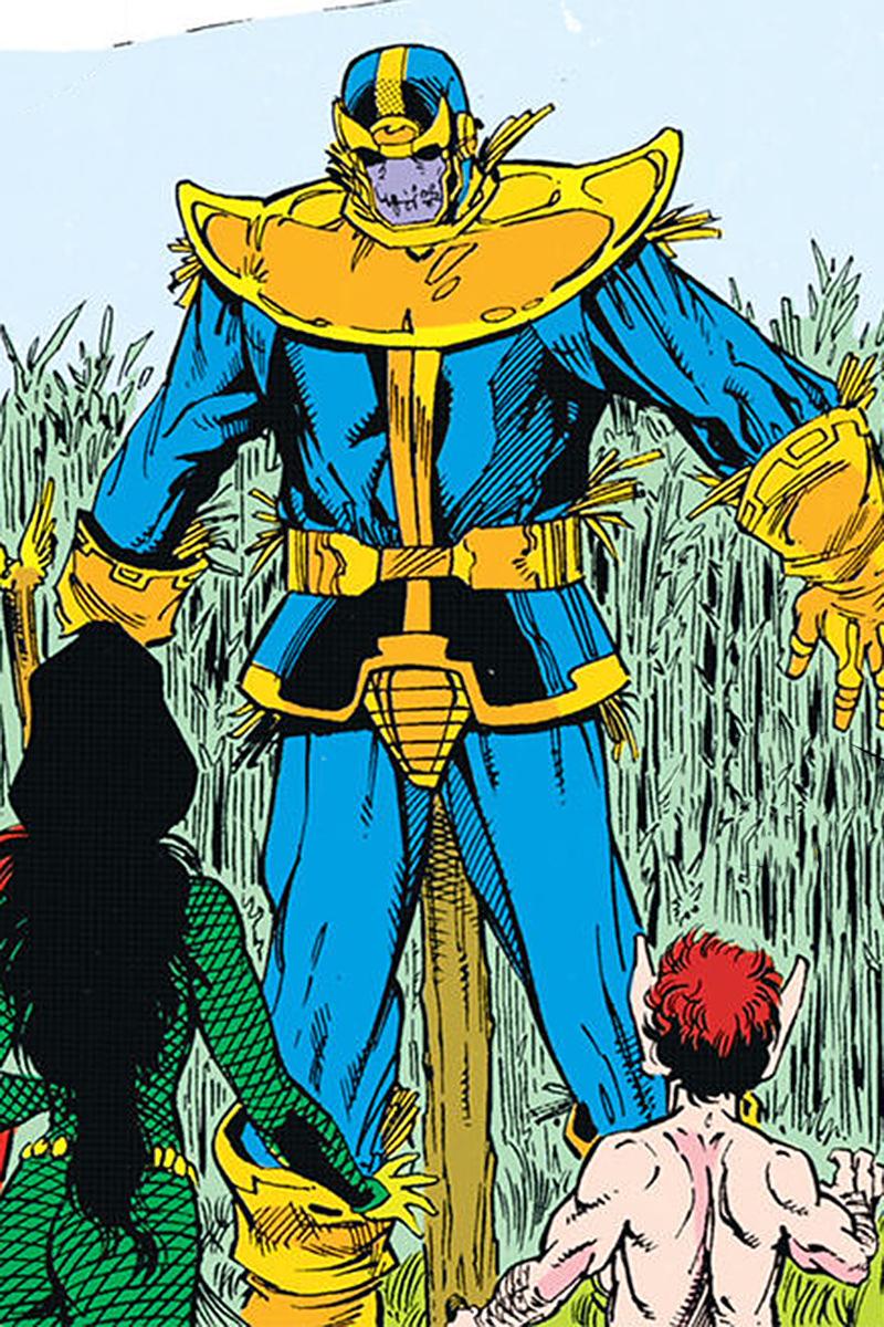 It's Scarecrow Thanos!
