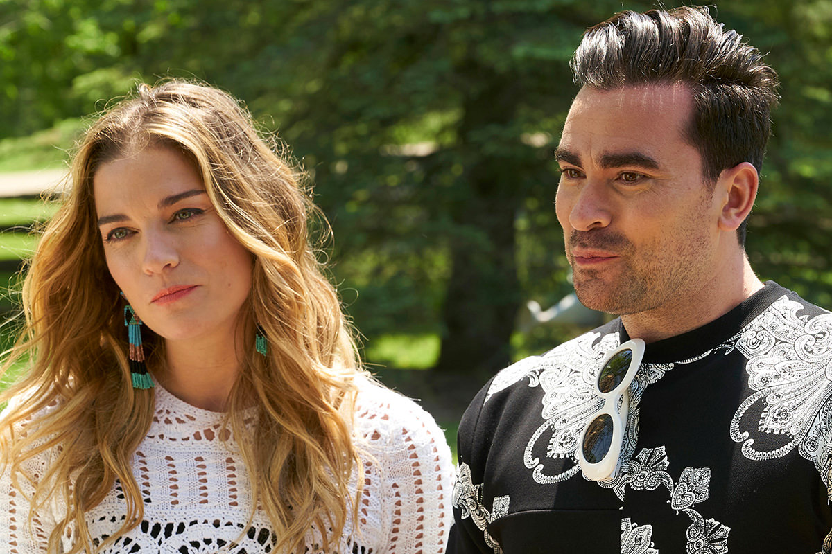Schitt's Creek David and Alexa