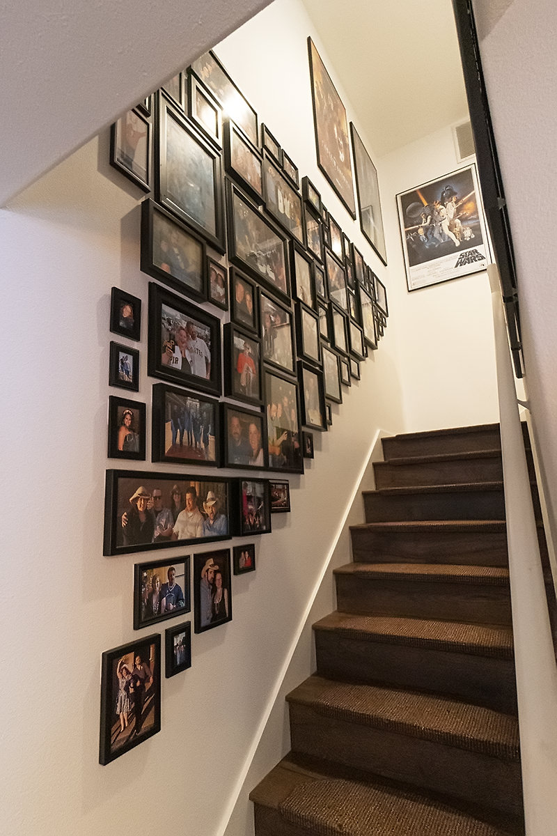Stairwell Photo Wall Image