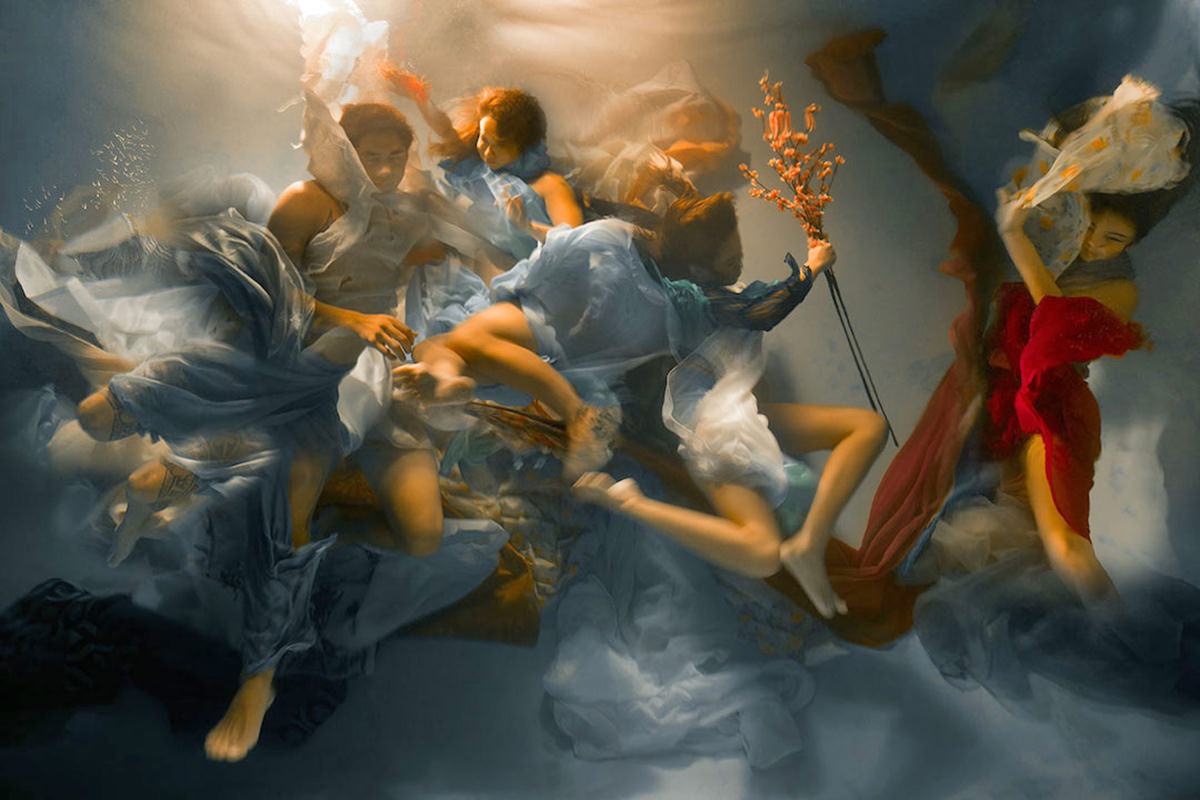 Underwater Paining by Christy Lee Rogers
