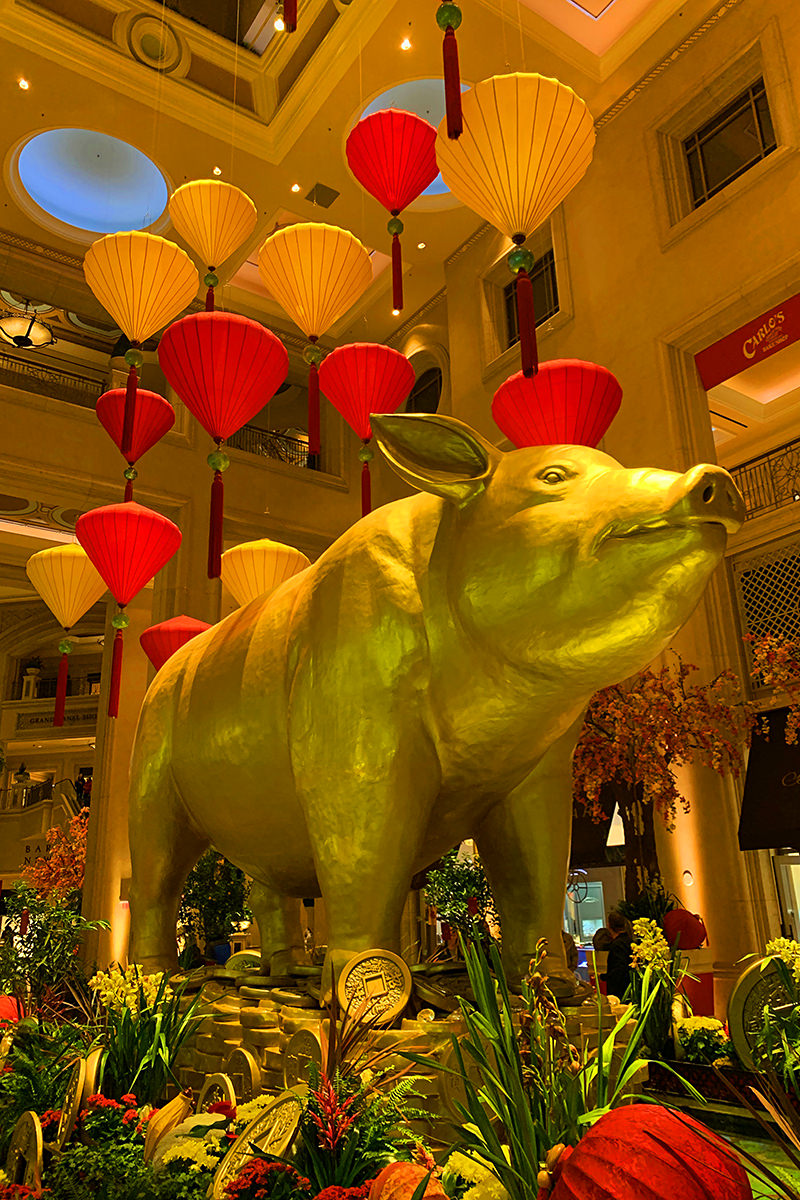 Chinese New Year at the Venice Hotel
