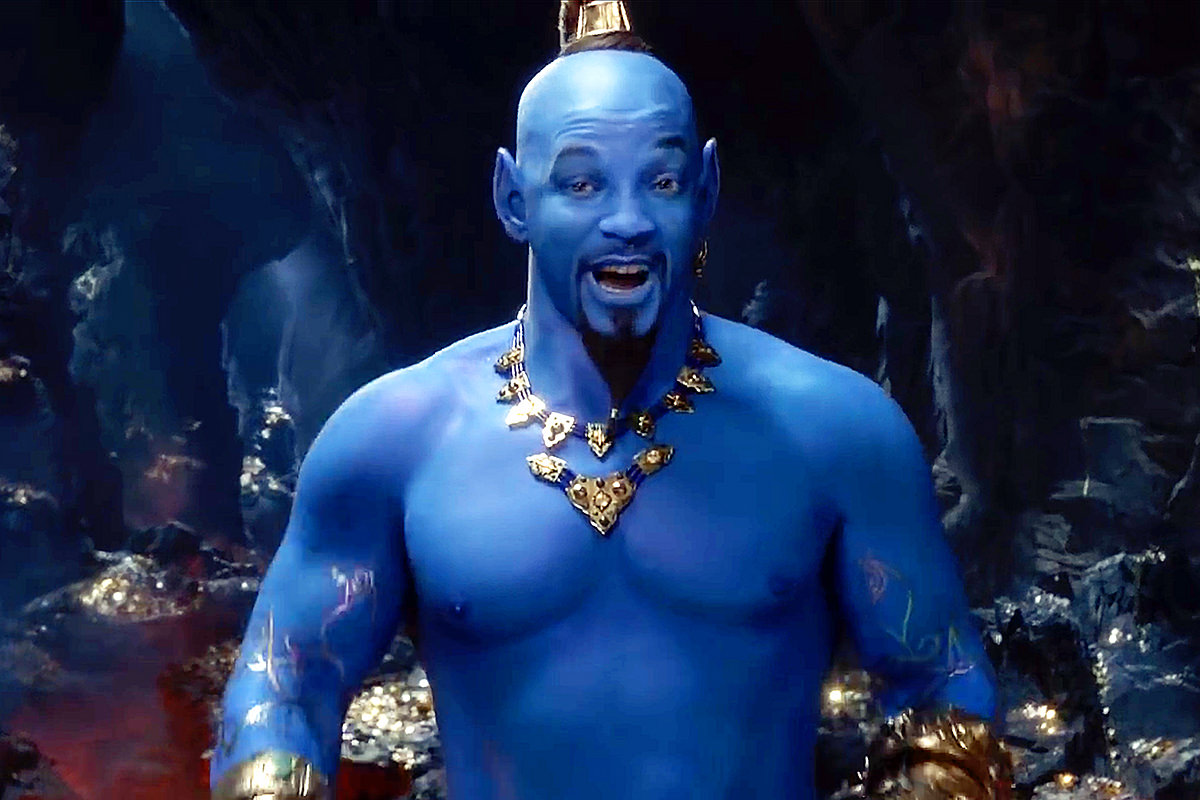 Will Smith as Genie in the live-action Disney's Aladdin movie