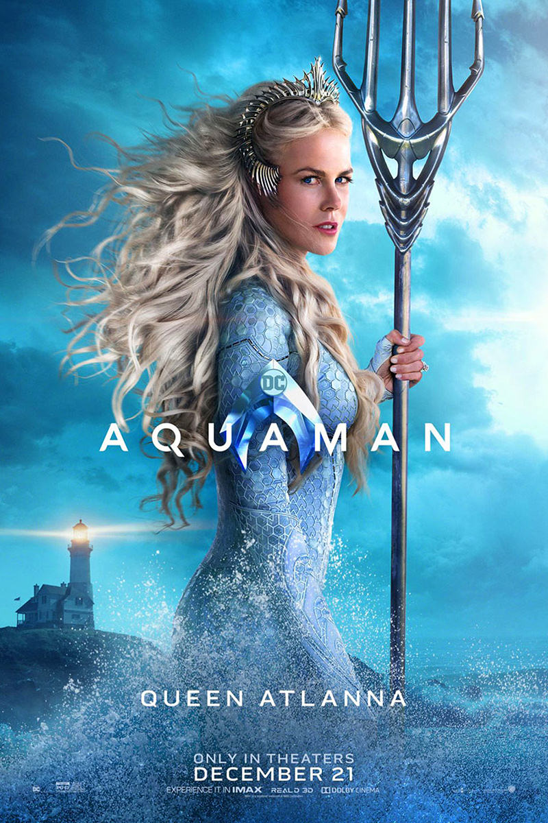Atlanna Aquaman Movie Poster