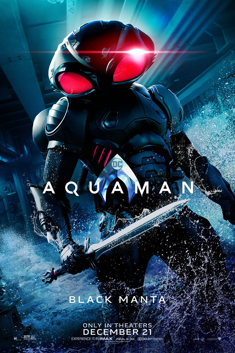Black Manta Movie Poster