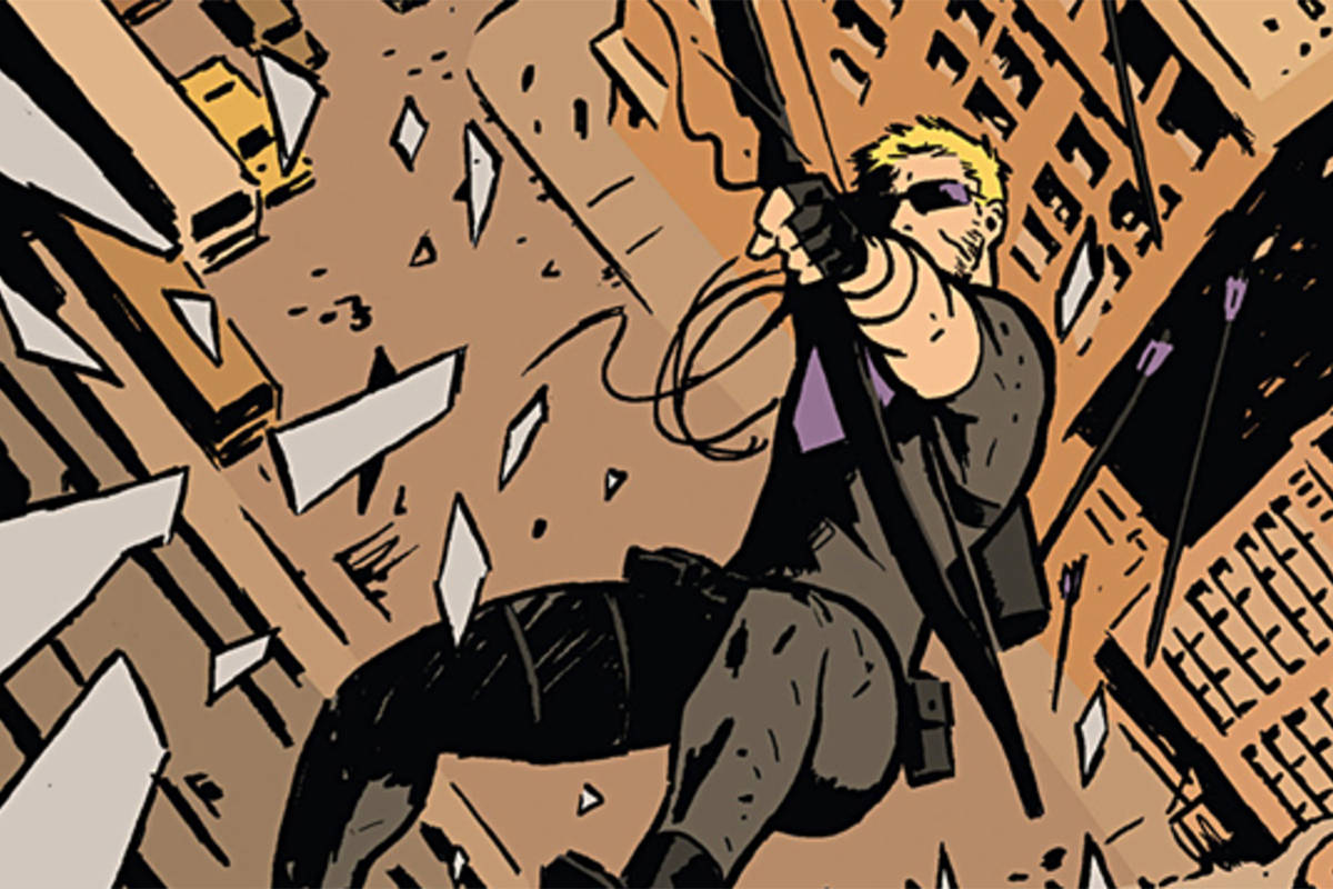 Hawkeye by David Aja
