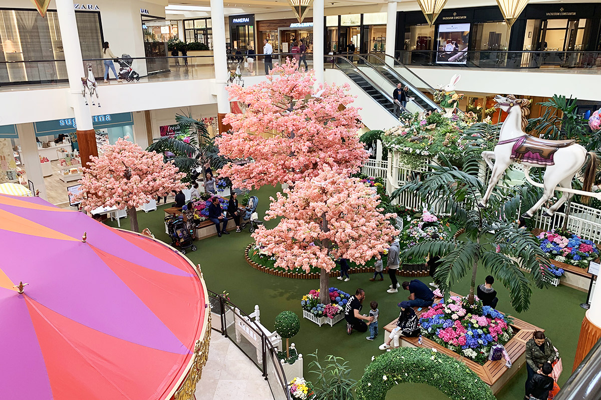 Easter at Costa Mesa Mall