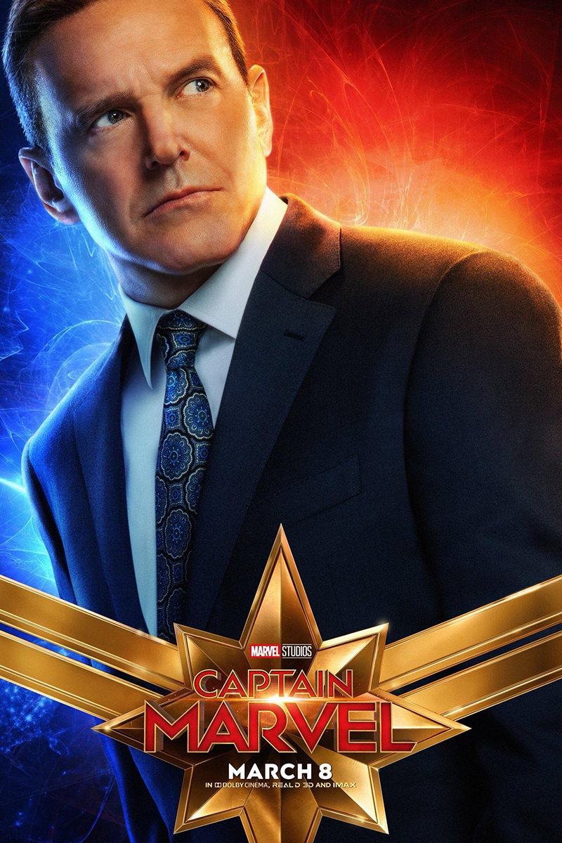Captain Marvel Coulson Poster