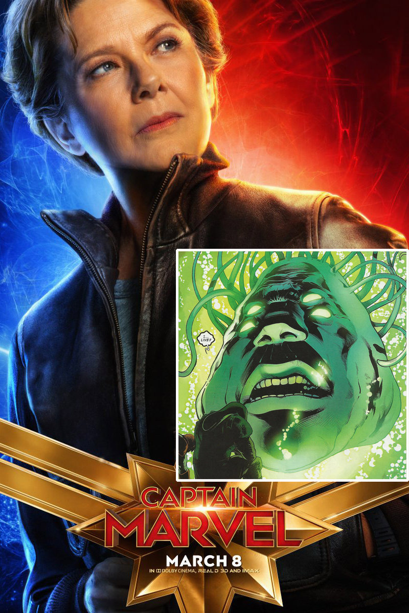 Captain Marvel Supreme Intelligence Poster