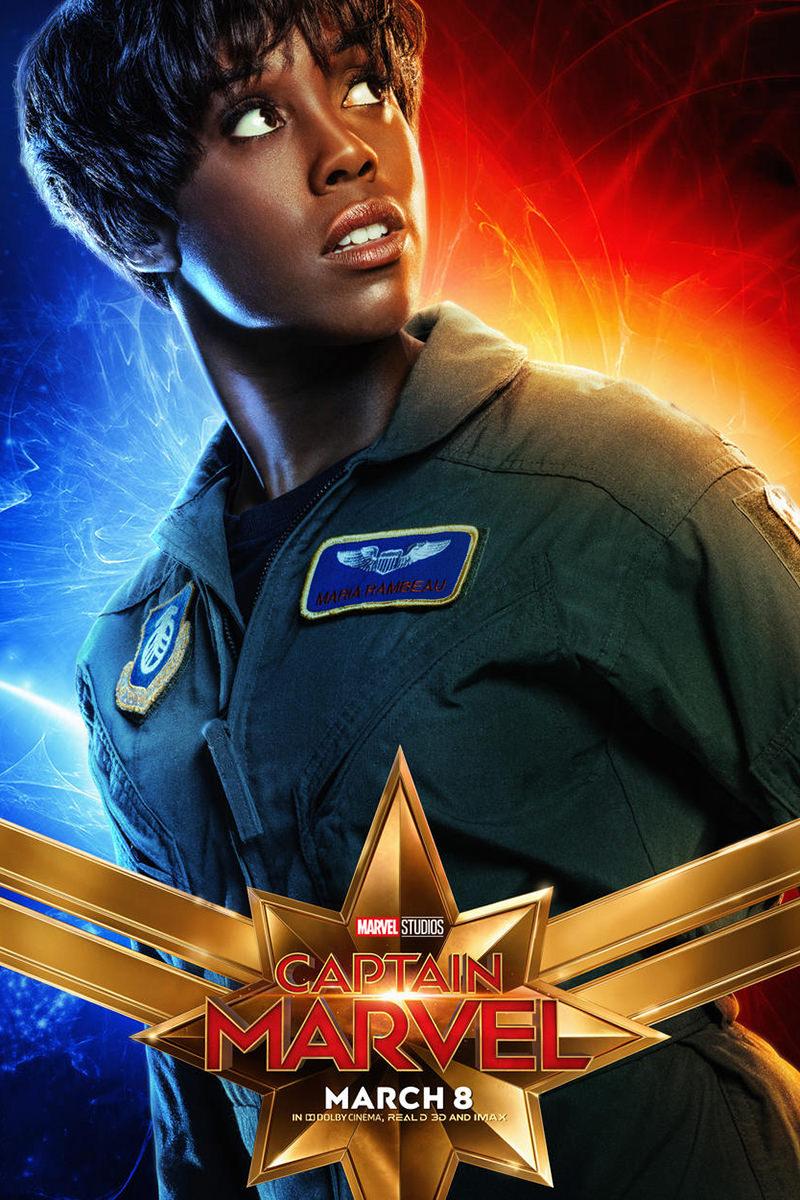 Captain Marvel Maria Rambeau Poster