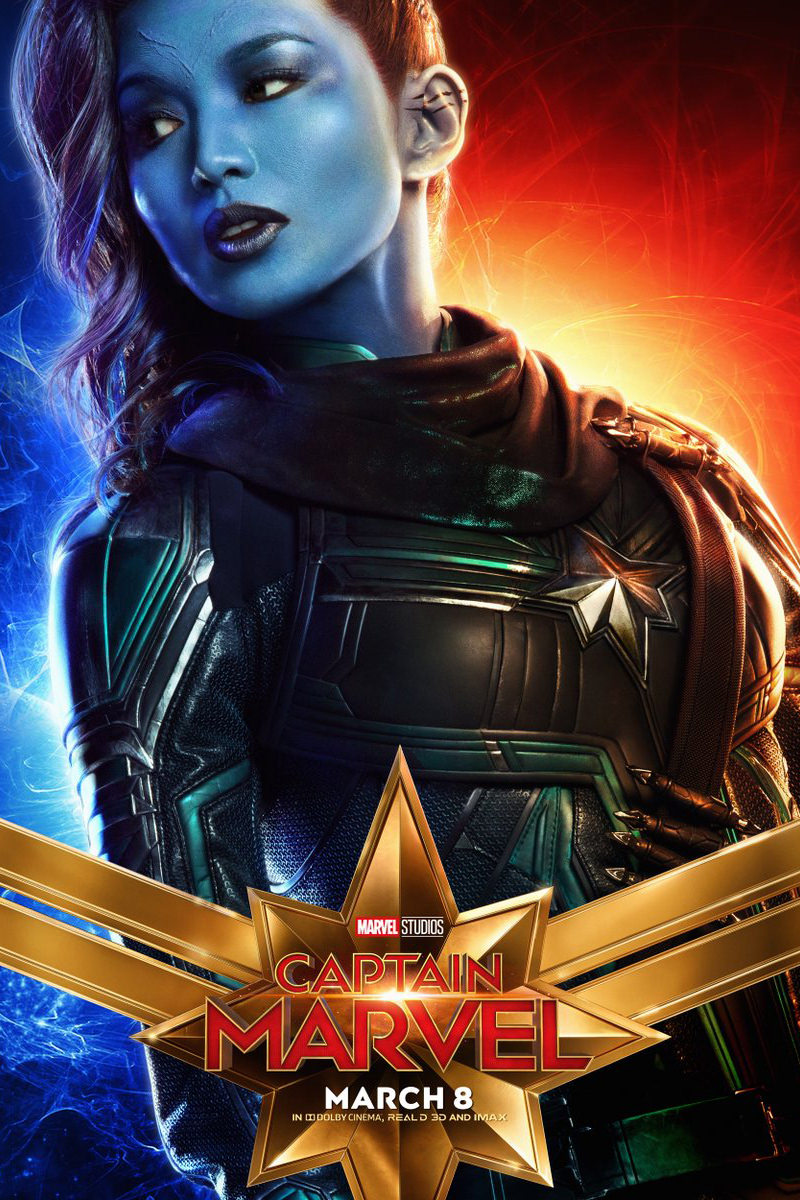 Captain Marvel Minn-Erva Poster