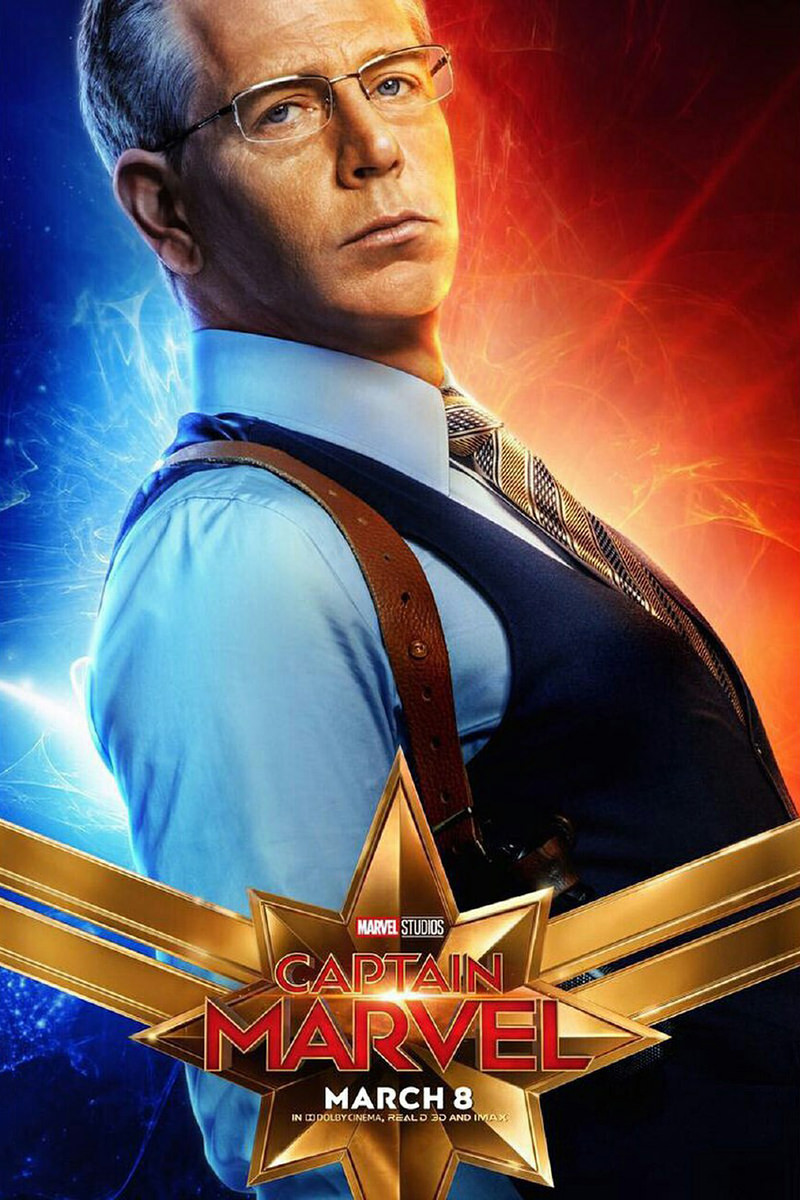 Captain Marvel Talos Poster