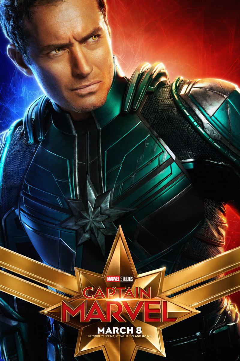 Captain Marvel Yon-Rogg Poster