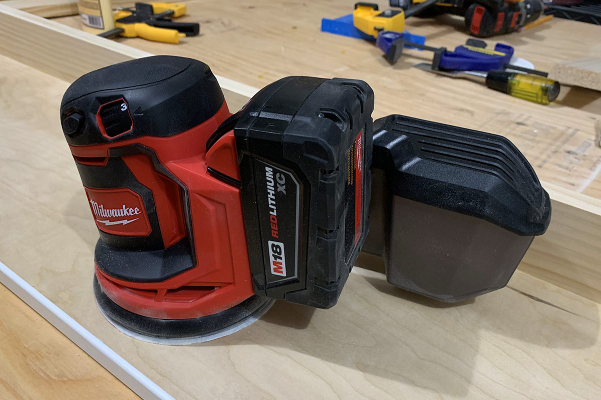 Milwaukee Cordless M18 Random Orbital Sander