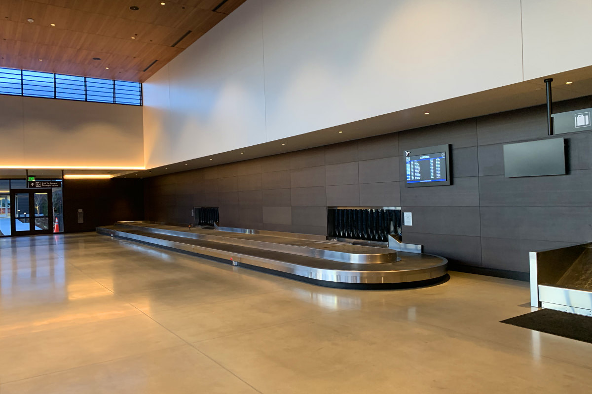 Paine Field Baggage Claim