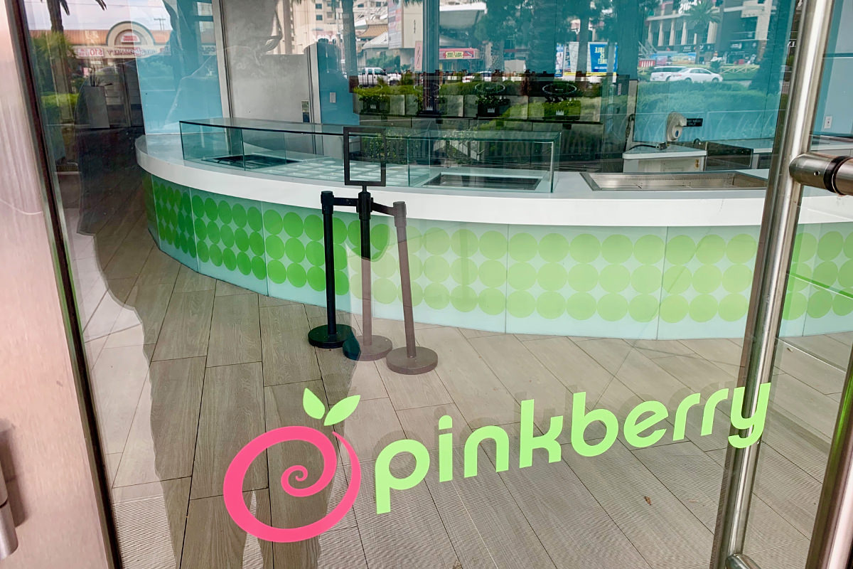 Pinkberry Vegas Closed!