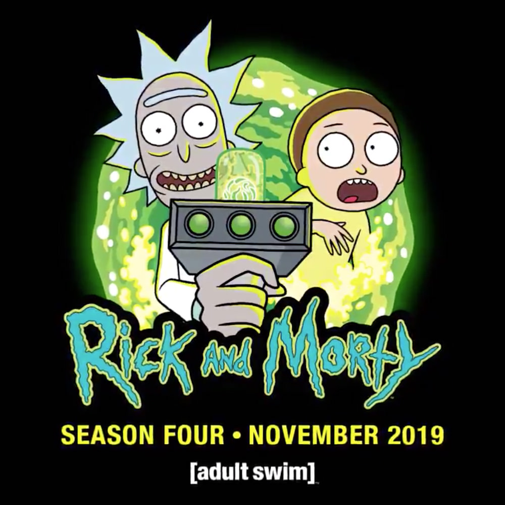 New Rick and Morty, November 2019 on Adult Swim!