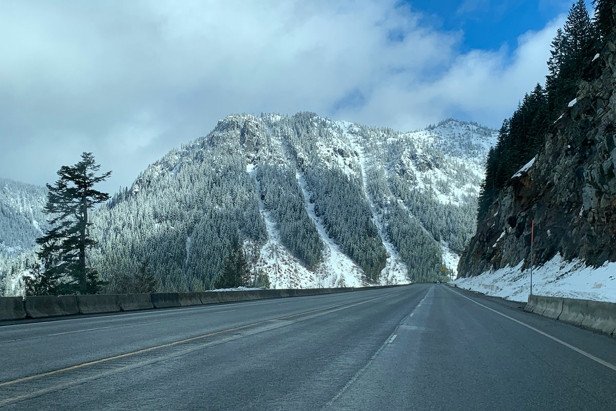Winter Mountain Pass!