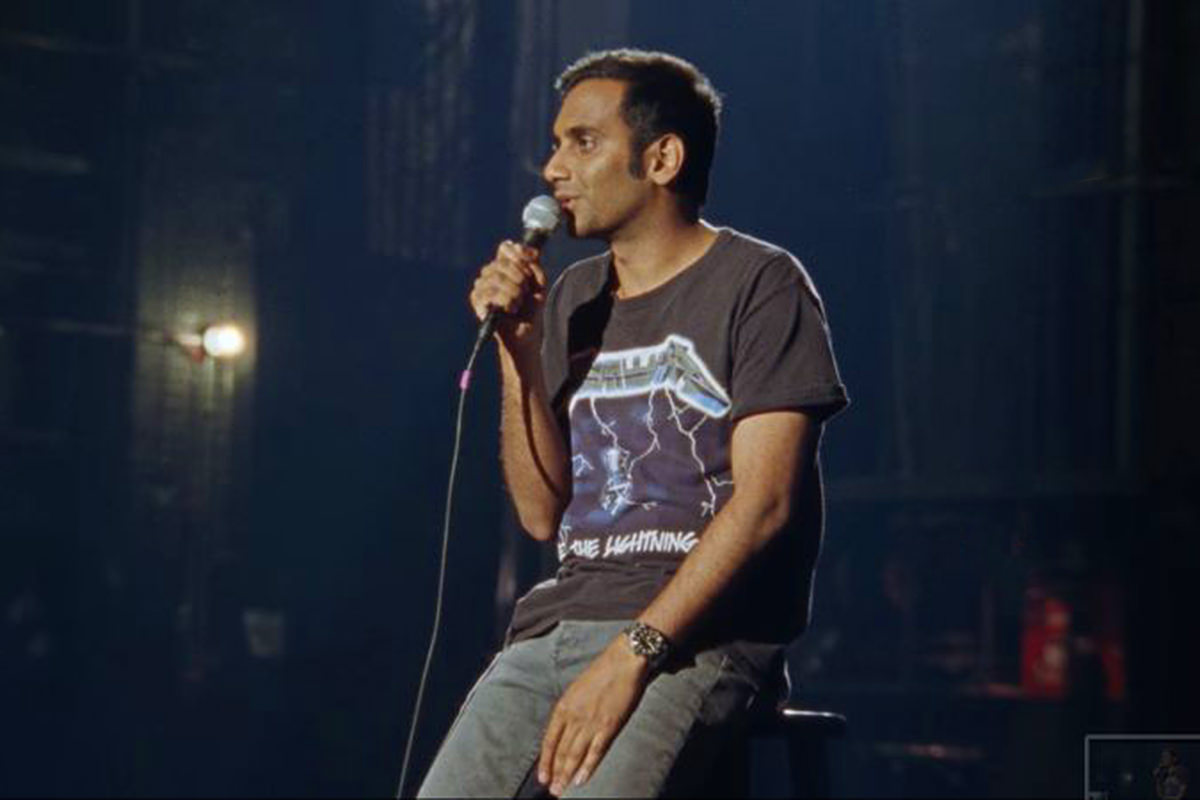 Aziz Ansari on Netflix