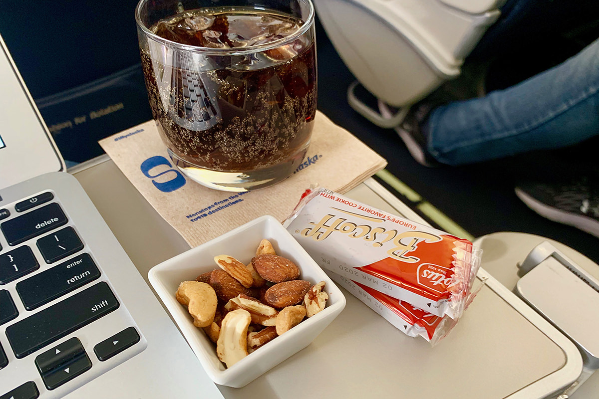 Warm Nuts in First Class!