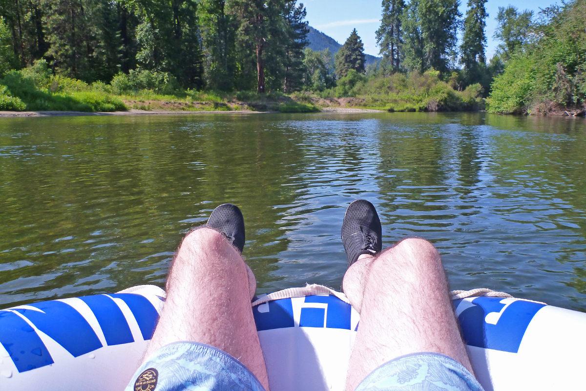 Me floatin'