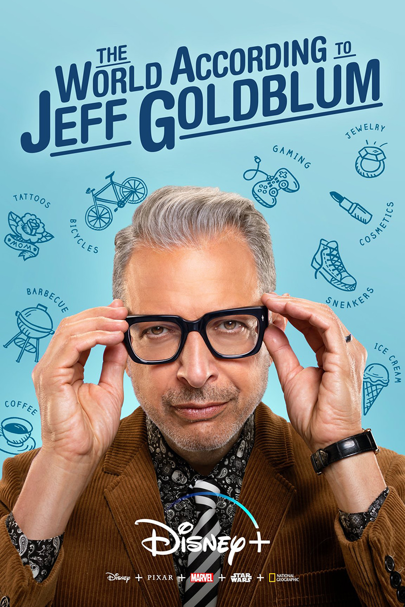 The World According to Jeff Goldblum poster.
