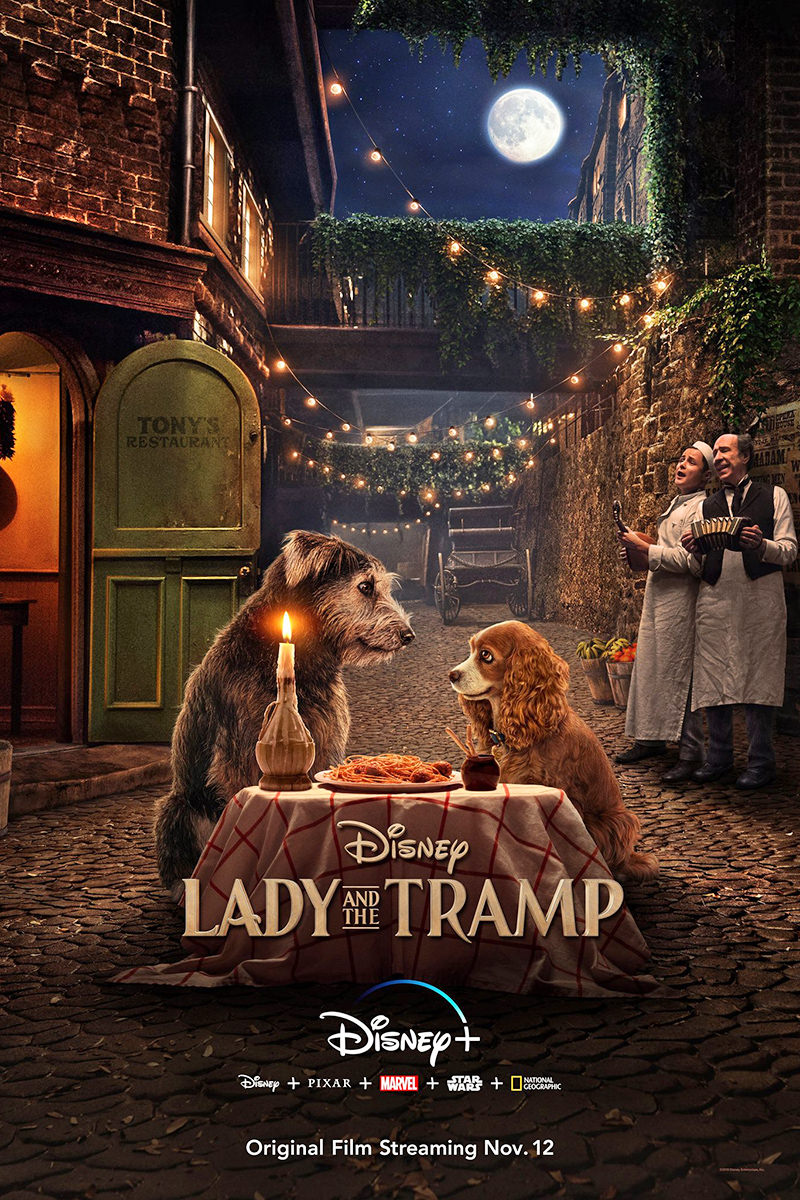 Poster for Lady and the Tramp.