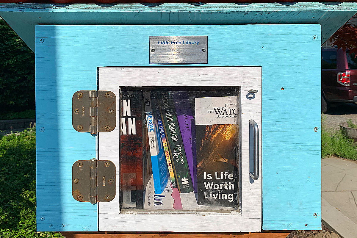 Little Library Box!