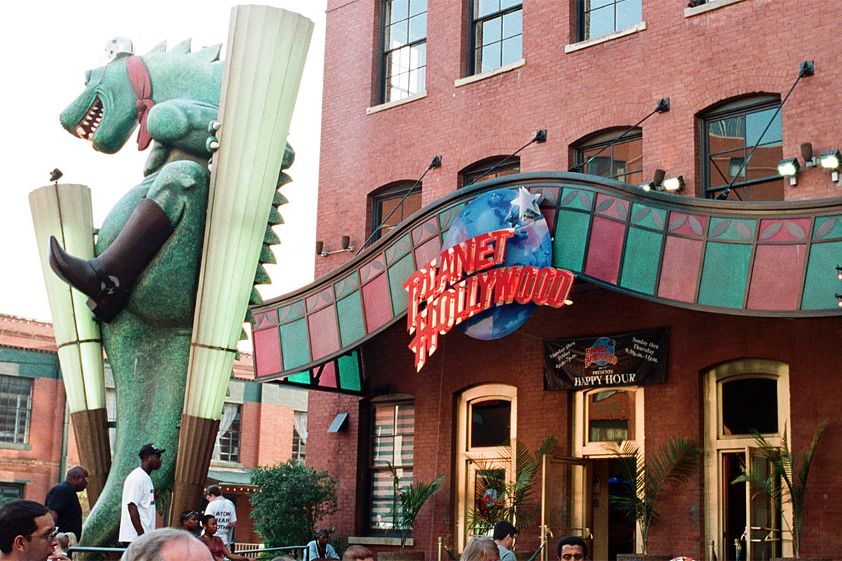 Planet Hollywood Dallas